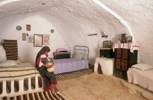Unknown until the 1960s, this tiny underground town in southern Tunisia provided Bedouin residents with respite from the scorching desert sun. Also served as Luke Skywalker's home in the 1977 film Star Wars Episode IV: A New Hope.