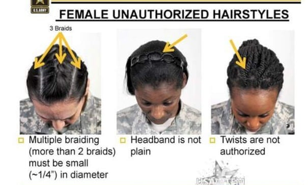 What Does A Black Female Soldier S Hair Have To Do With