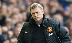 David Moyes  Everton v Manchester United - Barclays Premier League
