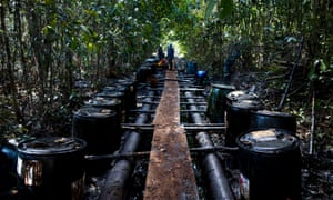 Indigenous protesters occupy Peru's biggest Amazon oil field
