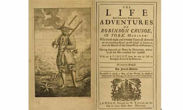 Daniel Defoe's Robinson Crusoe (1719)