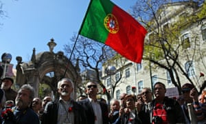 People in Lisbon remember the 1974 carnation revolution, when an almost bloodless coup helped usher in democratic government, as well as universal health care, public education, old-age pensions and labour rights.