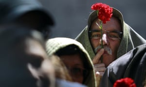 Many Portuguese think the social achievements of  the Carnation Revolution are now under threat.