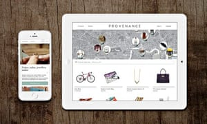The website Provenance
