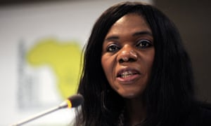 South African public protector Thuli Madonsela recognised for calling the government to account.