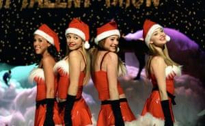 Mean Girls Christmas scene