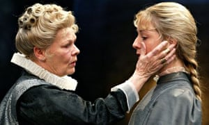 Judi Dench and Claudie Blakley in All's Well that Ends Well