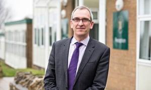 headteacher Simon Duffy