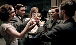 Innocence lost … Greta, Wilhelm, Charly, Friedhelm and Viktor in Generation War. Photograph: BBC/ZDF
