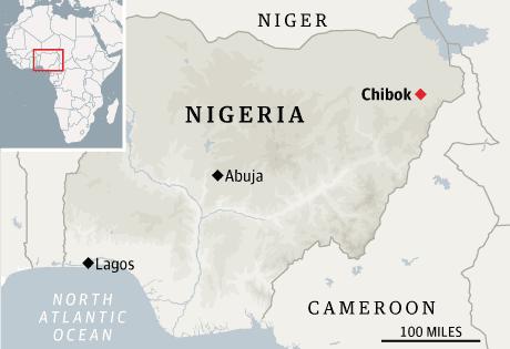 Nigeria map
