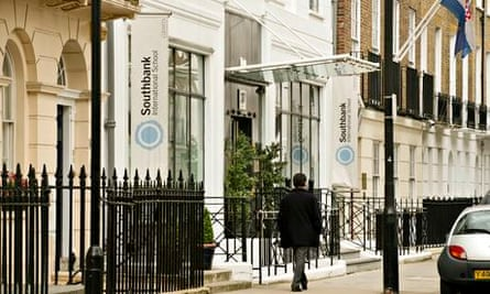 Southbank International school. The campus in Westminster, London, has students from 61 countries