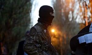 Ukraine Slavyansk Europeans held