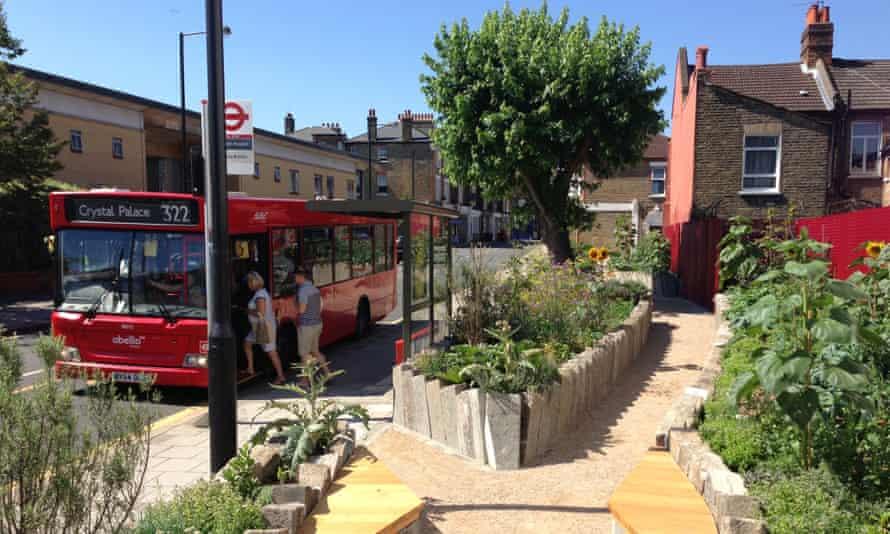 Edible Bus Stop Landor Road