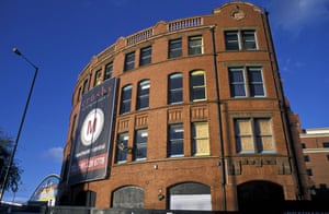 The former hacienda club in Manchester being converted into apartments.