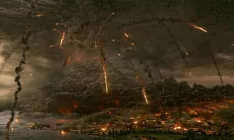 Vesuvias erupts