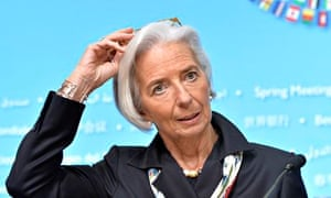 Firstborn… and high-flying: Christine Lagarde, IMF chief.