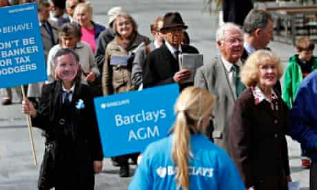guide directs shareholders to the Barclays AGM in central London