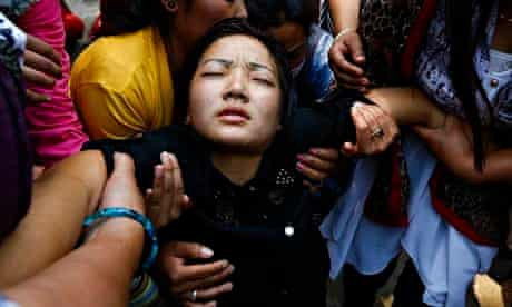 Funeral for victime of Everest avalanche