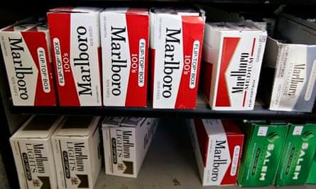 Launch funds: Philip Morris' Marlboro cigarettes.