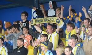 Torquay United have fallen through the Football League trapdoor after a four-year stint.