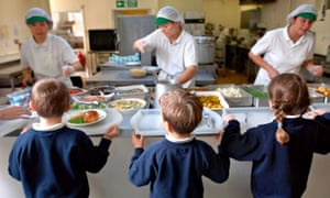 Children healthy school lunches Swindon