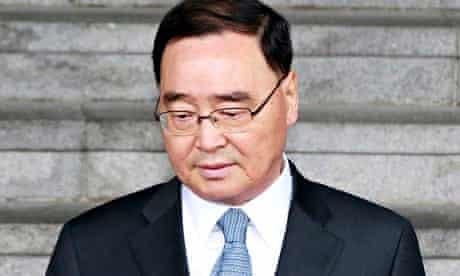 South Korean prime minister Chung Hong-won