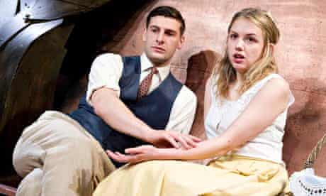 Barnaby Sax and Hannah Murray in Martine at Finborough Theatre, London