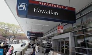 San Jose International Airport and survived hawaii
