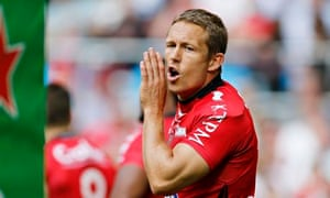 Jonny Wilkinson of Toulon during the Heineken Cup semi-final against Munster at Stade Vélodrome