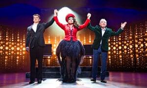 Nigel Harman, Victoria Elliott and Ashley Knight in I Can't Sing