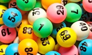 Rolling lottery balls