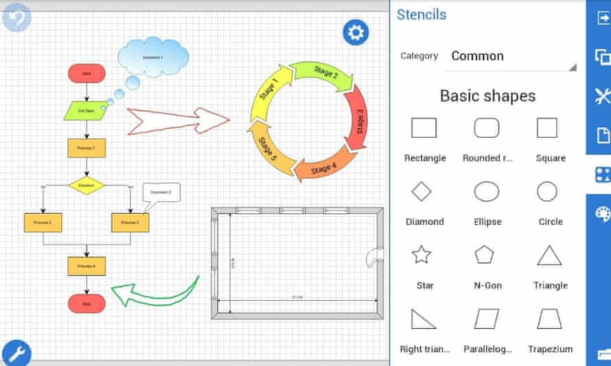Grapholite Diagrams Pro for Android.