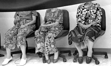 Three former comfort women