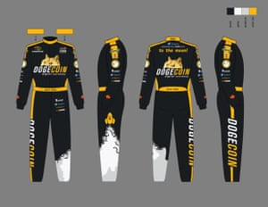 A suggestion for the Dogecar team's uniform.