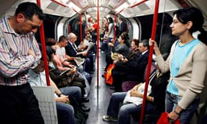 Tube commuters
