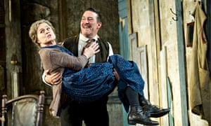 Ciarán Hinds, right, and Sinéad Cusack in a 2011 production of Juno and the Paycock