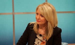Esther McVey, who today defended the government's new Help to Work scheme