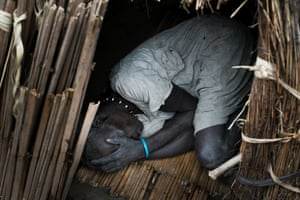 An elderly woman in Ganyiel, Unity State, South Sudan