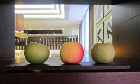 Apples at Heathrow hotel