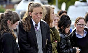Anne Maguire students mourn