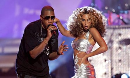 Beyoncé (right, with her husband, Jay Z)
