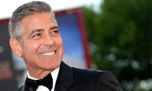 George Clooney at the Gravity premiere