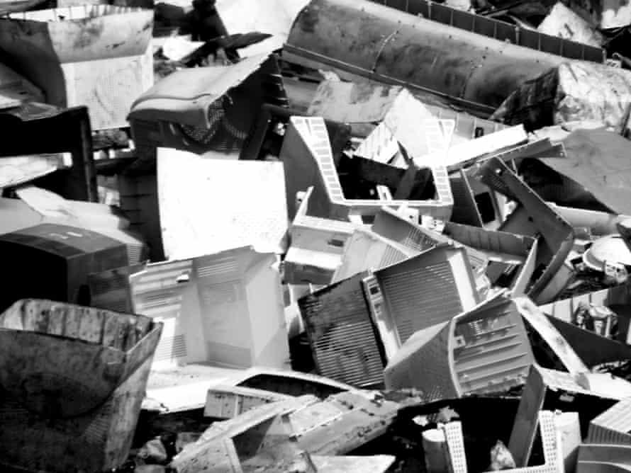 E-waste dumping