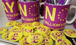 Ukip buttons Campaign Trail