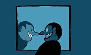 British teeth illustration