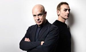 Brian Eno and Karl Hyde