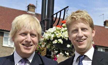 Boris Johnson and Younger Brother Joe