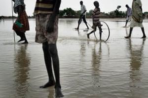 The rainy season has begun in Unity State