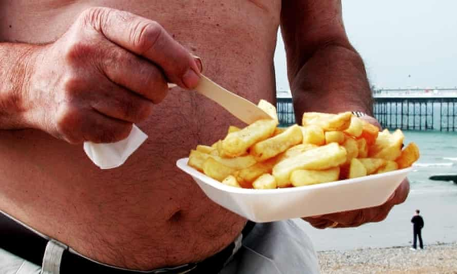 Fitness-tracking apps didn't help when the chips came calling. Tummy not writer's own.