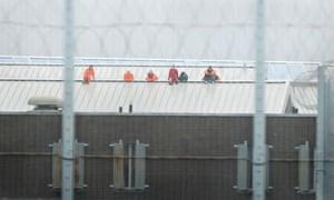 oakwood prison protest